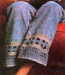 Alargar prendas con crochet