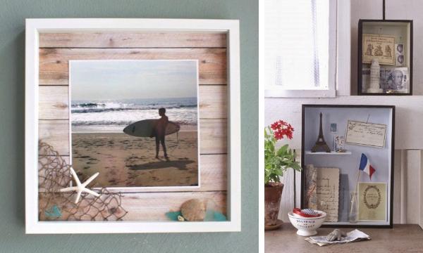 Crea un diorama con tus recuerdos de vacaciones