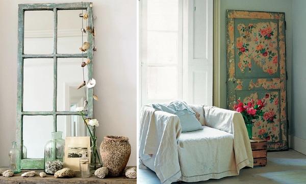 Decoracion retro vintage ideas con ventanas y puertas