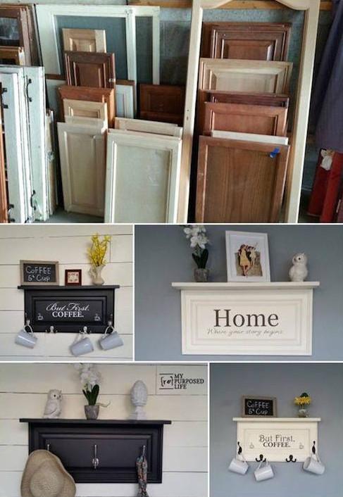 Ideas para reciclar una puerta vintage