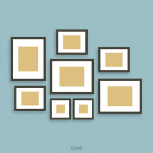 Colgar cuadros alrededor de un cuadro