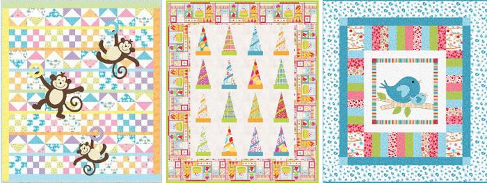 Patrones de patchwork para bebés