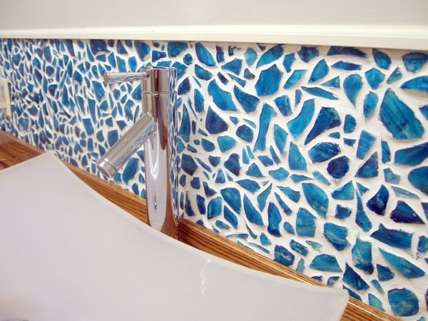 Decorar el baño con mosaico