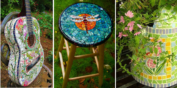 Ideas para decorar con mosaico