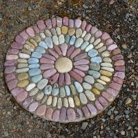 Mosaico con piedras