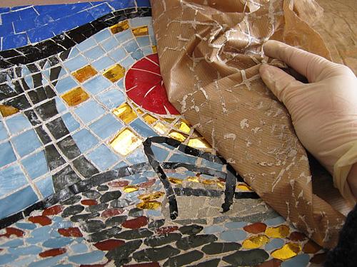 Técnica de mosaico indirecto