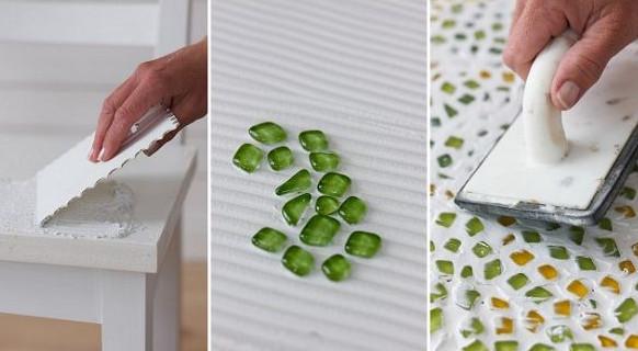 Técnica de mosaico paso a paso