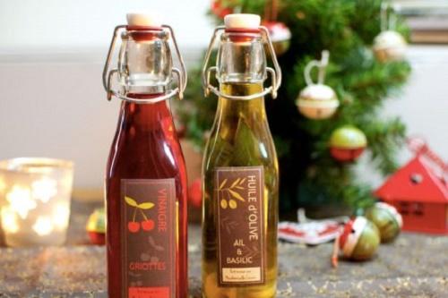 Aceite y vinagre artesanal para regalar