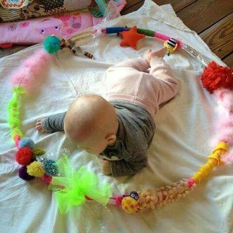 Aro para actividades de estimulacion bebes