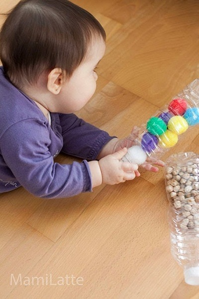Botellas sensoriales para bebes