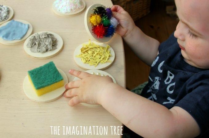 Juguetes sensoriales DIY para estimulacion temprana