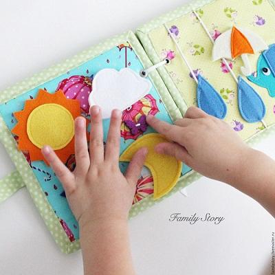 Libros de fieltro para bebes