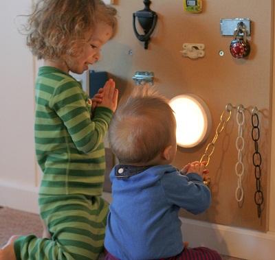 Paneles sensoriales para actividades de estimulacion temprana