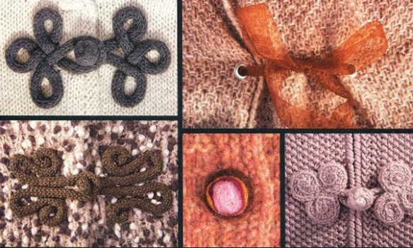 Esquemas para hacer botones tejidos