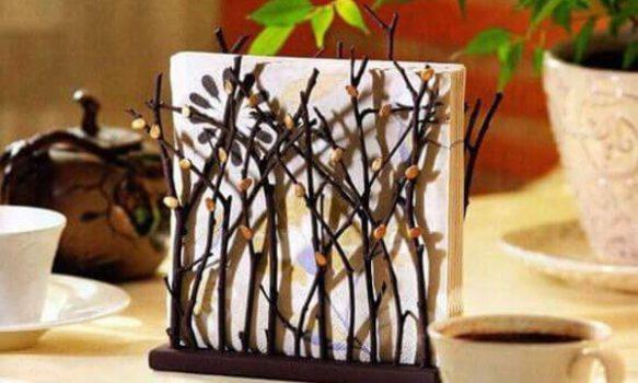 Ideas para decorar con ramas