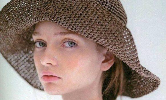 Patrones de crochet para sombreros
