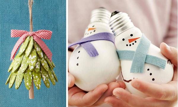 Crea un árbol de navidad único: ¡12 manualidades divinas y fáciles! -  Diario Artesanal