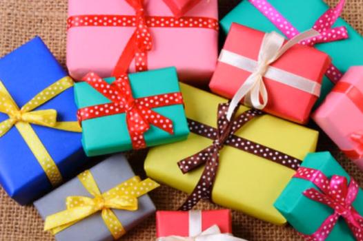 regalos coloridos